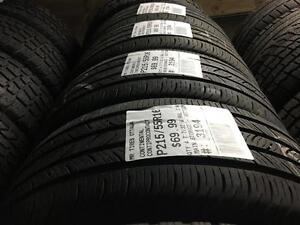 215/55/16 Continental ContiProContact *All-season Tires*