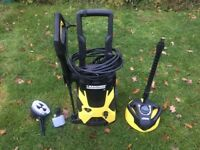 Karcher K5 Pressure Washer with All Accessories