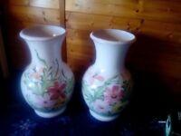 Floor standing vases