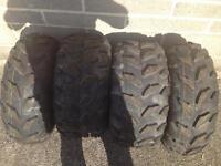 Maxxis quad tyres Yamaha grizzly honda foreman trx Kawasaki kvf can am Atv 4x4