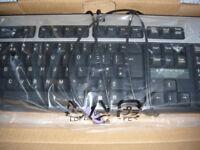 hp 434820-031 PS/2 Keyboard, Basic, Vista, UK