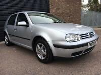 VW golf 1.6L manual 5 speed Alloys 2 keys
