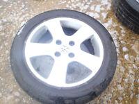 Peugeot alloy wheels