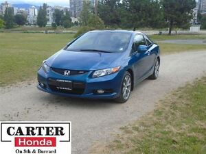 2012 Honda Civic Si Coupe + CERTIFIED WARRANTY UNTIL JUNE 2018