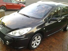 Peugeot 307 sw se hdi black in good all round condition