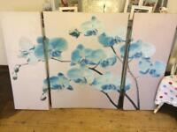 Large 3 piece Next canvas
