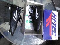 Vintage hi tech football boots