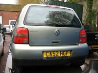 VW Lupo 1.7 SE SDi CAMBRIDGE SPECIAL EDITION spares or repair