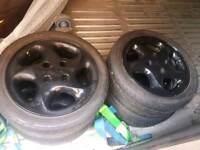 Citroen Saxo VTS alloy wheels