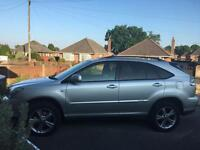 Lexus RX400H silver hybrid fully loaded