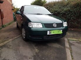 1.4 VOLKSWAGEN POLO MATCH 5 DOOR *81K FSH UNMOLESTED ORIGINAL IDEAL FIRST CAR 2 PREVIOUS OWNERS*