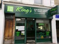 Chinese Food Malaysian Cuisine Takeaway Business still Running
