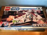 Lego Star Wars 7676 Republic Attack Gunship, Complete