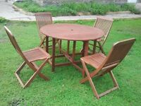 New Patio Table & Chairs