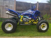 Yamaha yfz450 quad
