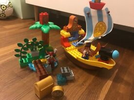 Duplo Jake and the Neverland Pirate Ship