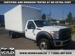 2015 Ford F-550 CHASSIS CAB F550 17Ft Box 6.7L V8 Diesel + Ramp