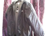 Adidas Young boys jacket Brand New