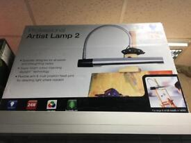 Professional artist Lamp 2 - brand new
