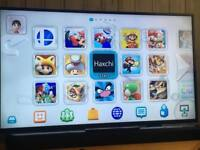 Wii U + 400 Games + Box + Extra Controllers
