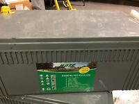 New Haze HZY-EV12-230 Gel Batteries x4