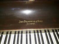 Piano- john broadwood and sons