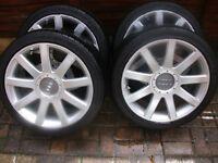 Genuine Audi RS4 alloys wheels