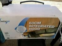 BRAND NEW INTEGRATED COOKER HOOD STILL SEALED IN BOX