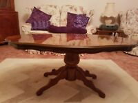 Italian Inlaid Mahogony effect Coffee Table