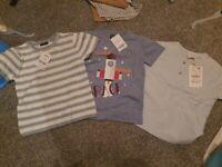 3 x bnwt Boys T-shirts age 18- 24 months (2 next, 1 zara)
