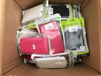 Job lot of 50 mobile phone cases brand new