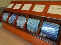 Laroque ties and cufflinks brand new