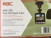 BRAND NEW RAC 205 full HD dash cam