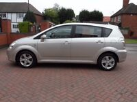 TOYOTA COROLLA VERSO DIESEL, 80K GENUINE MILES, HPI CLEAR, 7 SEATS, 1 YEAR MOT, DRIVES PERFECT