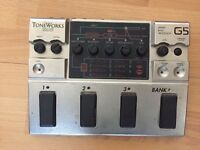Korg G5 Bass Synth Effect Pedal