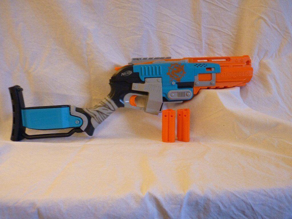 Nerf gun Sledgefire sawn-off, apocalypse style WIP by Gruntoks ...