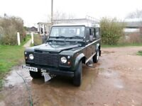Land Rover 110 DEFENDER COUNTY SW 300TDI - Must Go