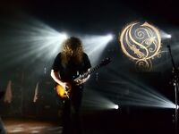 Opeth Wembley Arena Saturday 19 November 2016 - two tickets Block N13 Row L - best price !!!