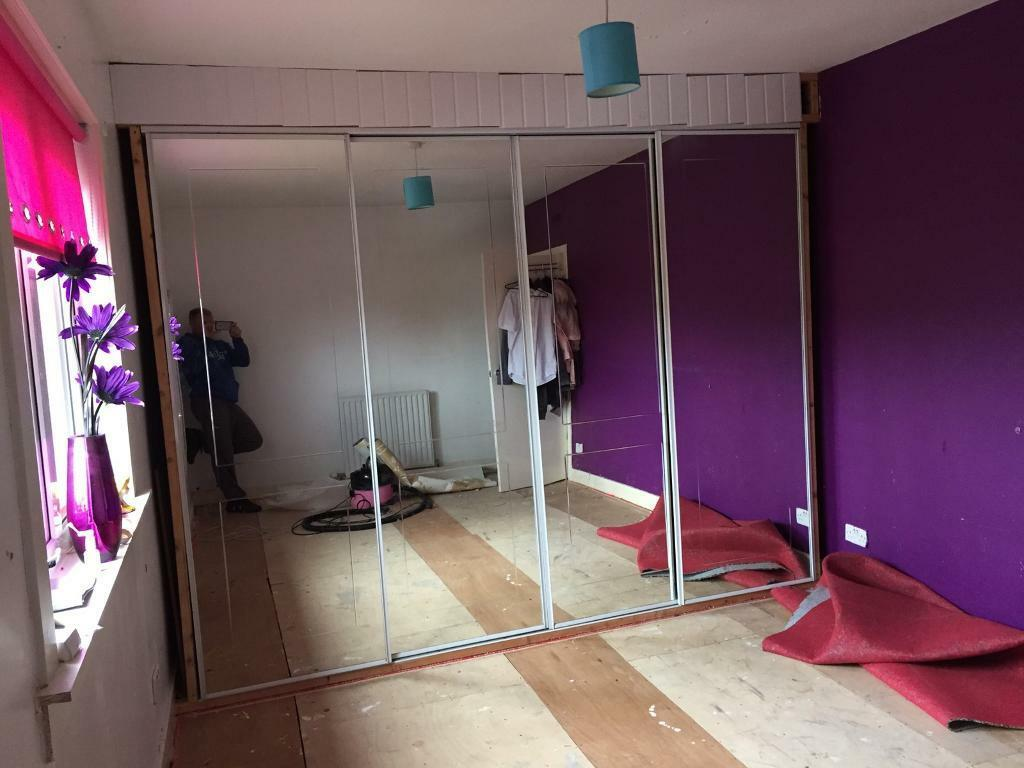 Mirror wardrobes and runners