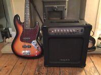 ARIA AB30 bass guitar amplifier ( 30Watt )