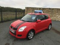 2009 09 SUZUKI SWIFT GL 1.3 3 DOOR HATCHBACK - *LOW MILEAGE* - APRIL 2018 M.O.T - GOOD EXAMPLE!