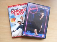 KNIGHT & DAY & COCKTAIL DVDS