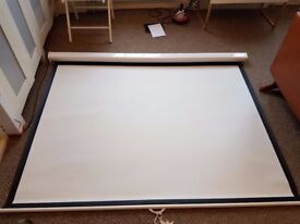 Projector Screen - Sapphire Video (4:3) Manual Wall Screen 1.8m Wide