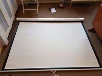 Projector Screen - Sapphire Video (4:3) Manual Wall Screen 1.8m Wide