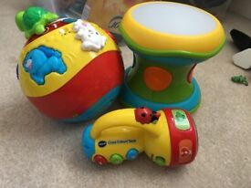 Baby toys Vtech and ELC