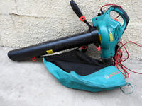 Bosch ALS 2500 Leaf Blower/Vacuum. Boxed,As New.Less than 1 year old.