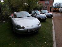 Mx5 mx-5 mx 5 'Limited edition' JASPER CONRANS. 2x Platinum (100 made) 1x Black (400 made) All FAB!