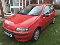 Fiat Punto | 2002 | 70,000 | Ideal First Car | Cheap