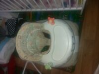 Baby walker used but in good condition for £7