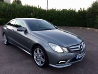 Mercedes E350 CDI Sport Edition BlueEFFICIENCY Full Service History Hpi Clear